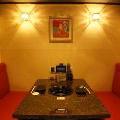 各部屋ごとに違う表情の個室たち…