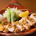 料理メニュー写真鶏ももの柚子胡椒焼き
