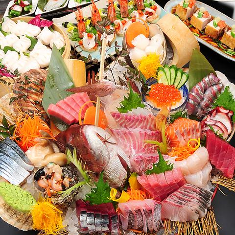 接待から大人数の宴会まで♪個室でゆったり贅沢な料理を楽しめるお店