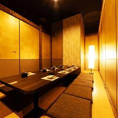 8名様までご利用いただける個室です。合コンや女子会も周りを気にせず楽しめる♪ドリンクメニューも充実☆※系列店舗との併設店舗となります