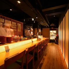 ワインと肴と赤酢のお寿司 魚が肴の写真