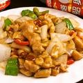 料理メニュー写真鶏肉のXOジャン炒め