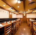 【各種宴会 最大40名様までOK!】パーティースペースは4名~40名様までお席ご用意できます。横浜駅直結と雨でもぬれない好アクセスです。各種お集まり大歓迎です。お昼間の宴会も大歓迎、お席のみのご予約もお気軽にお問い合わせ下さい。お得な昼宴会プランも必見です。