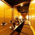 16名様までご利用いただける個室です。プチ宴会や大人数の会社宴会等なんでもOK◎※系列店舗との併設店舗となります