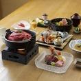宴会コースは全7品5000円からご用意してお待ちしております。旬の食材を使ったお料理をお楽しみ下さい。