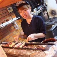 鶴川店の看板娘★1本1本大事に焼かせて頂きます!