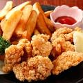 料理メニュー写真地鶏の唐揚げ