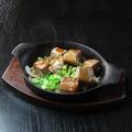 料理メニュー写真鉄板ステーキ