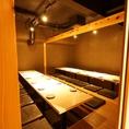 ドア付・完全掘りごたつ個室【~16名様】