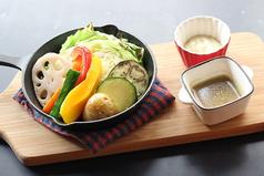 焼き野菜バーニャカウダ