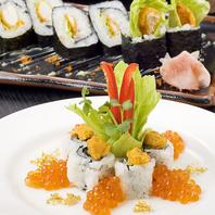 四季のお寿司を楽しめます。