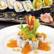 見た目・味の両方で楽しめる四季のお寿司をご提供☆