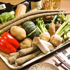 蒸し焼き野菜 盛り