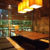 《個室》8名様でお過ごしいただける人気の個室。接待にも人気のお部屋です。