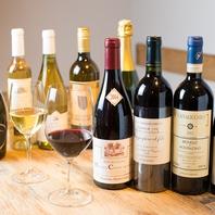料理に合ったワインやお酒を提案