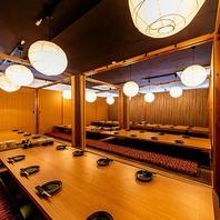 [最大157名様OK]金沢片町駅前店自慢はやっぱり完全個室