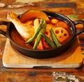 料理メニュー写真スープカレー各種