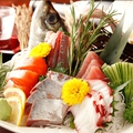 料理メニュー写真本日の特選鮮魚刺身