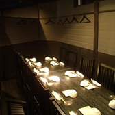 最大10名様までOKなテーブル席個室