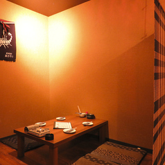 【2階】お座敷半個室は周りを気にせずゆっくり楽しめます。