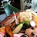 料理メニュー写真祝い鯛折り詰め(2~3人前)