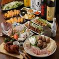 【一番人気!彩り手巻き寿司コース■3時間制 全9品 5000円(税込)】⇒メインの手巻き寿司の味はもちろん、インパクトも大きい!みんなでワイワイお楽しみください♪