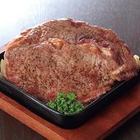 【超豪華!】牛リブロースステーキも食べ放題♪