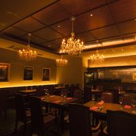 高級感溢れるレストラン的空間で味わうGYOZA