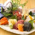 料理メニュー写真(竹)5種盛合せ