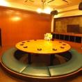 《焼肉・宴会・飲み放題…》円卓掘りごたつ!アットホームな宴会なんていかがでしょうか?学生さんも大喜びの個室です。宴会 盛り上がること間違いなし☆