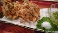 料理メニュー写真沖縄もずくの特大かきあげ