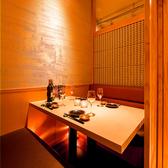 ゆったりソファー個室。優しい雰囲気の上質な個室です。