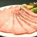 料理メニュー写真特上カルビ「豊かな風味と柔らかな肉質の霜降りカルビです。」