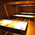大宴会向けの広々完全個室【~35名様まで】