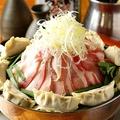 料理メニュー写真元祖餃子しびれ鍋