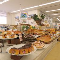 手作りパンが50種類以上!