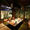 接待や宴会にもおすすめな完全個室のお部屋、お料理多数ご用意しております。