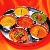 インドスパイス直輸入のこだわり料理の数々