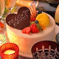 誕生日、記念日の方へ!バースデーケーキ&泡サービス♪