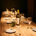 天神駅近くの好立地にある「テゾーロ 天神店」は、木目調のテーブルに穏やかな灯りが照らす完全個室席を完備。扉付きのプライベート空間なので周りを気にせずガールズトークを愉しみたい女子会やママ会はもちろん、お勤め先でのご宴会やご友人との飲み会など様々なシーンでご利用ください。雰囲気間違いなし!