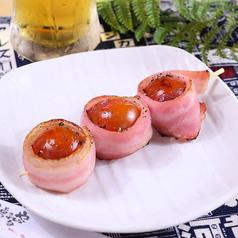 トマトベーコン串