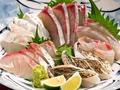 料理メニュー写真【県外客から人気の『だんだん畑』の秘密に迫る】お刺身盛合わせ