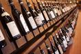 スペインワインを中心に世界各国のワインがたくさん!
