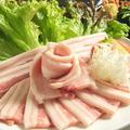料理メニュー写真豚カルビ「本場韓国では主流の豚ばら肉です」