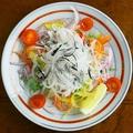 料理メニュー写真ふぐ皮サラダ