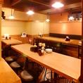 宴会にも女子会・ママ会など様々なシーンで使える清潔感のある広々とした空間!