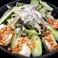 豆腐胡麻サラダ