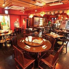 台湾のキッチュな雰囲気が可愛い店内