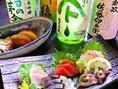 刺身のほか焼き魚や煮付など、美味しく魚を食すメニューが豊富♪