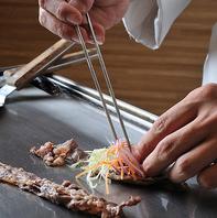 ホテルシェフが作る、和洋中40種類以上のお料理!